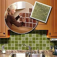 adhesive kitchen backsplash self adhesive backsplash wall tiles home kitchen