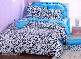 unique cheetah print bedding color patterns all modern home designs