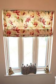 Roman Blind Measurement Calculator Roman Blind Made To Measure In Laura Ashley Gosford Cranberry Ebay
