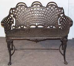 bench excellent satisfying antique garden metal bench amazing