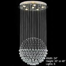 amazing modern crystal chandelier on small home decor inspiration