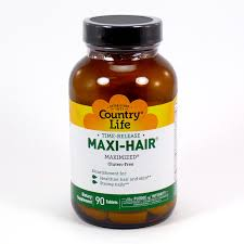 maxi hair by country life 90 tablets maxi hair skin nails