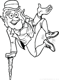 leprechaun coloring pages printable free leprechaun coloring page leprechaun show something coloring page