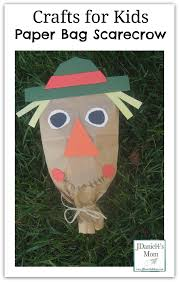 crafts for kids paper bag scarecrow pinterest