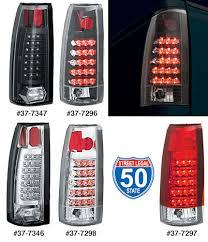 1998 chevy silverado tail lights led tail light sets 1988 98 chevrolet pickup trucks 1988 98 gmc