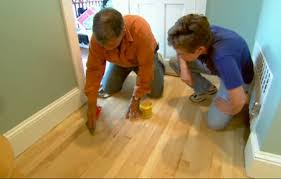 how to a hardwood floor this house