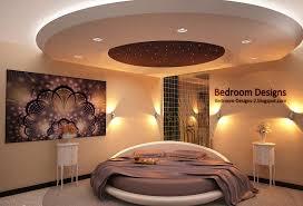 Modern Bedroom Design Idea With Gypsum Board Ceiling Gypsum Design For Bedroom