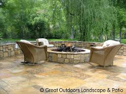 25 great stone patio ideas for your home flagstone patio