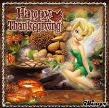 happy thanksgiving from tinkerbell picture 118624360 blingee