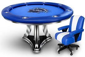 modern series round poker table