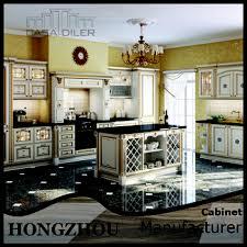 italian golden home mahogany wood kitchen cabinets furniture buy