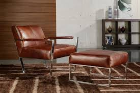 Leather Lounge Chair Cognac Leather Lounge Chair By Moroni Accent Seating