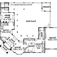 home plans with courtyards mediterranean house plans with courtyards style home courtyard