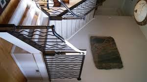 Wrought Iron Stair by Custom Stair Iron Balusters For Atlanta Marietta Dunwoody
