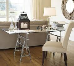 Pottery Barn Mega Desk 49 Best Diy Adjustable Desk Images On Pinterest Glass Top Desk
