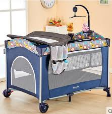 foldable crib multifunctional baby bed bb cradle bed european