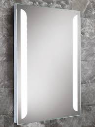 hib livvy steam free led back lit mirror 500 x 700mm 77405000
