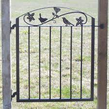 garden gate flowers metal art iron garden gate with birds and flowers u2013 modern iron works