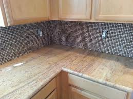 Limestone Backsplash Kitchen Newly Installed Marble Limestone Travertine Countertop And