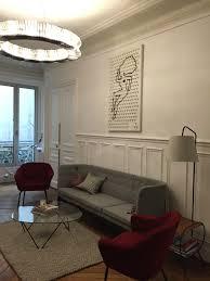 Beige And Grey Living Room Living Room Desing Grey Sofa Red Armchair Beige Rug