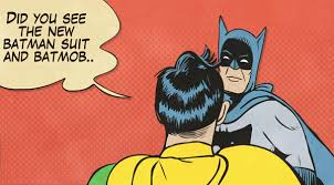 Batman And Robin Slap Meme - batman slapping robin gif on imgur