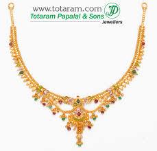 22k 22 karat gold necklaces necklaces ruby emerald