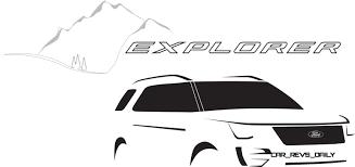 ford explorer logo the ford explorer logo
