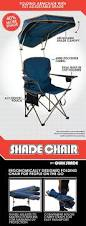 Camping Chair Accessories Amazon Com Quik Shade Max Shade Camp Chair Navy Sports