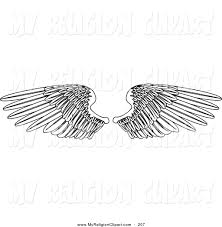 royalty free angel wing stock religion designs