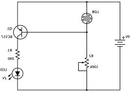 simple circuit drawing basic tail light wiring diagram engine