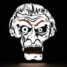diy halloween skull decorations