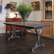 Industrial Table L Early 20th Century Industrial Dining Table Desk Furniture