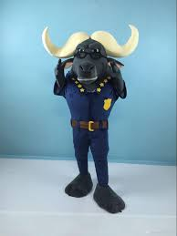 police halloween costumes ohlees funny police chief bogo buffalo crazy animal city nick fox