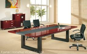 furniture simple wooden boardroom table meeting table conference