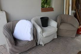 slipcovered chair how to barrel chair slipcover scotch home decor