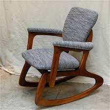 mid century modern rocking chair cityfoundry