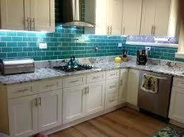 glass tile for kitchen backsplash ideas glass subway tile kitchen backsplash lush ready glass subway tile