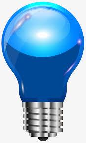 blue free light bulbs dream blue light bulb cartoon light bulb incandescent l png