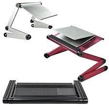 jazooli adjustable folding laptop netbook computer office table