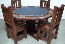 table poker dining table memorable u201a amazing rustic poker dining