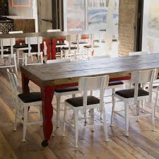 Hardwood Dining Room Tables Reclaimed Wood Dining Tables Urban Evolutions