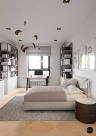 inspiring minimalist apartment shining with mid century lighting
