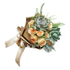 succulent bouquet rustic succulent bouquet flower delivery singapore florist in