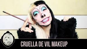 halloween cartoon makeup