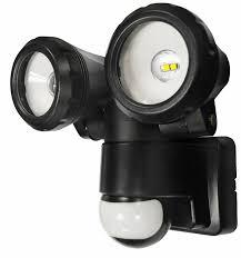wireless led outdoor flood lights decoration powersave twin spot led pir motion sensor outdoor flood