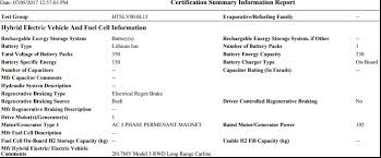 tesla model 3 battery pack sized at 80 5 kwh according to epa document