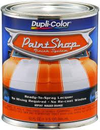 amazon com dupli color bsp207 hugger orange paint shop finish