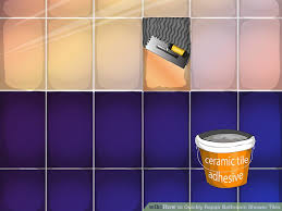 How To Paint Bathroom Tile How To Quickly Repair Bathroom Shower Tiles 6 Steps