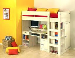 bunk bed desk under image of bunk bed with desk underneath for