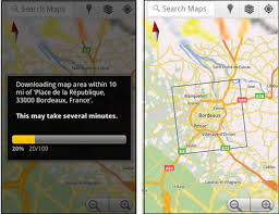 android offline maps the end of paper maps maps goes offline for android